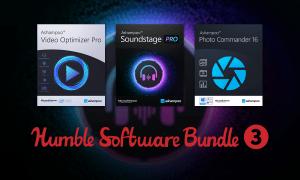 Just $1 - Software Bundle 3 - Ashampoo SoundStage Pro, Cinemagraph, Video Optimizer Pro, and more!