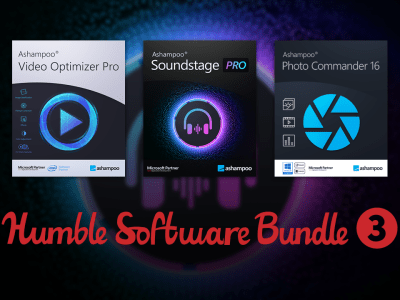 Just $1 - Software Bundle 3 - Ashampoo SoundStage Pro, Cinemagraph, Video Optimizer Pro, and more!