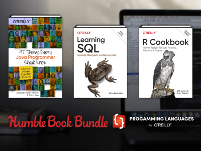 Name your price for Humble Book Bundle: Programming Languages by O'Reilly - 97 Things Every Java Programmer Should Know, Learning SQL, Learning Java, & more!