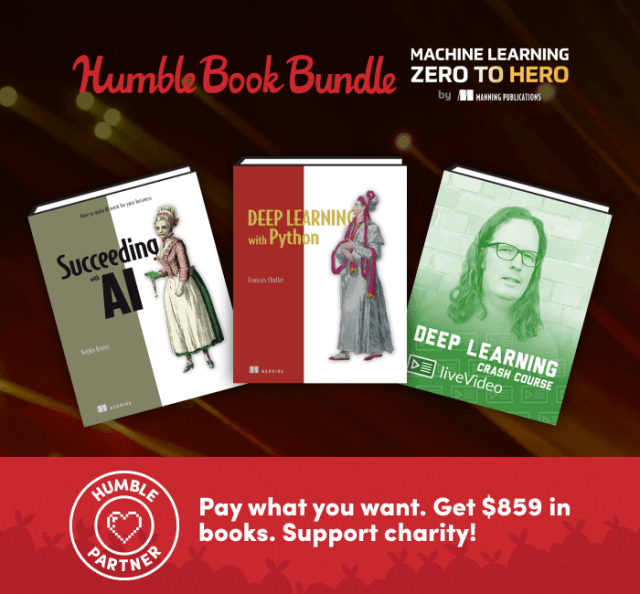 Humble Book Bundle: Machine Learning Zero to Hero by Manning Publications