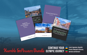 Expand your vocabulary with year-long language learning courses including Japanese, French, and Spanish, plus helpful reference ebooks for each!