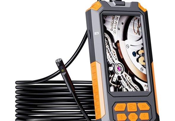 Review: ILIHOME Dual Camera Screen Endoscope