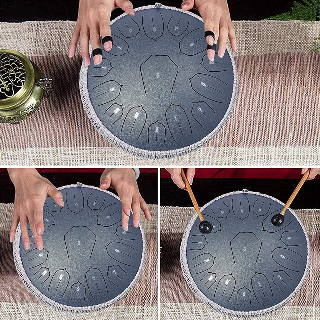 Review: WUDIEYIN Steel Tongue Drum
