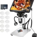 "Review: ARRABLON 7"" LCD Digital Microscope"