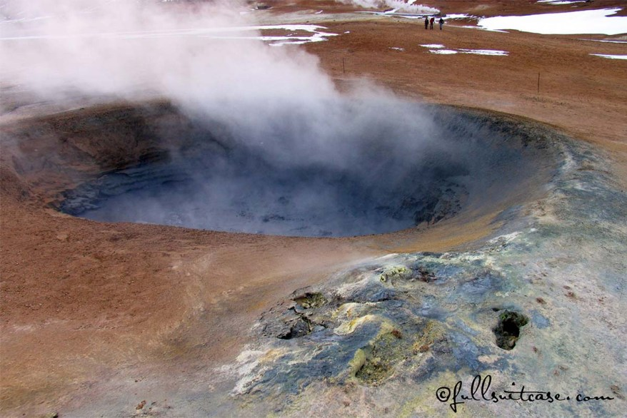 Geothermal area of Namaskard in Northern Iceland