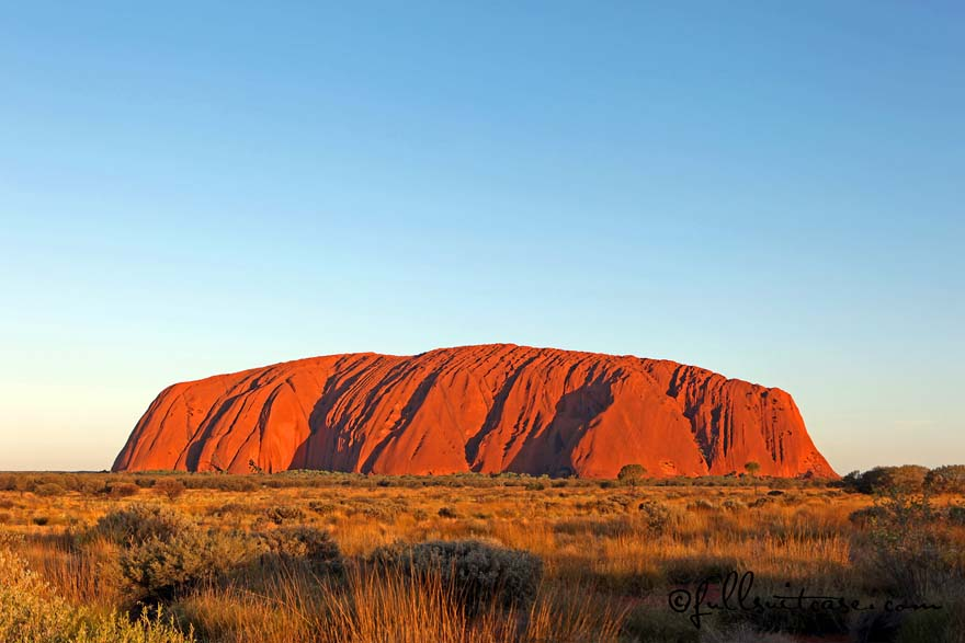 Ayers Rock Uluru family trip to Australia