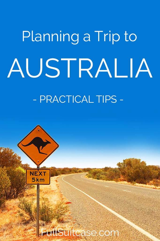 Planning Australia trip - practical tips and recommendations #Australia