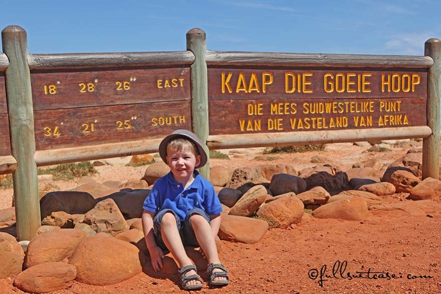 Family trip to South Africa with kids