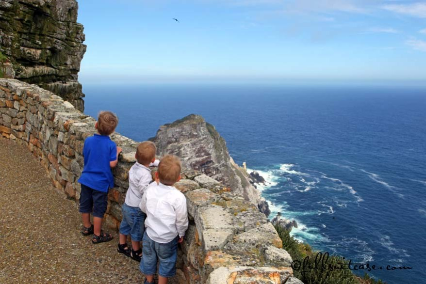 South Africa travel children at Cape Point