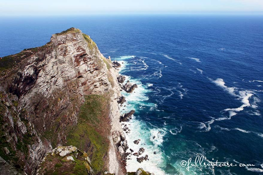 Cape Point at the Cape of Good Hope in South Africa