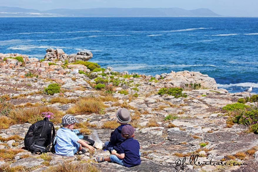South Africa travel with young children