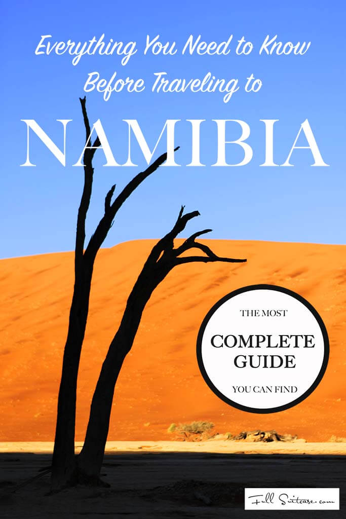 Everything you need to know before traveling to Namibia. The most complete guide out there - practical tips for travellers.