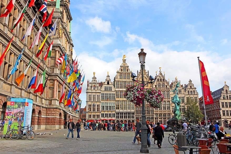 Grote Markt in Antwerp Belgium is not to be missed