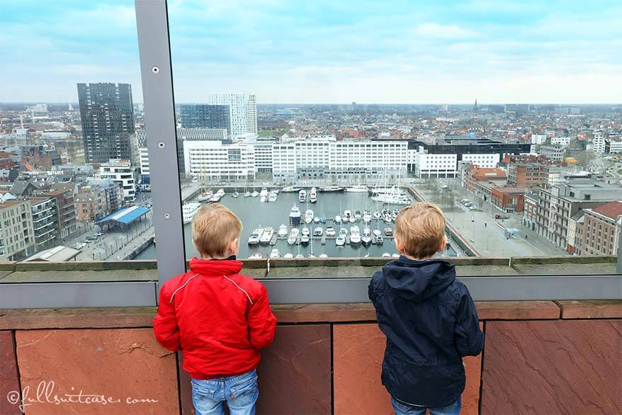 Different day in Antwerp with kids - insider's guide