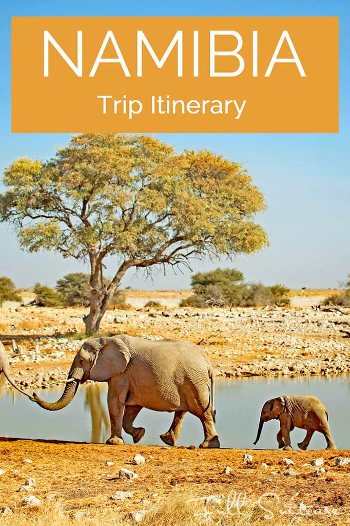 Complete Namibia trip itinerary. See the best of Namibia with this practical day-to-day guide to the most beautiful places in Namibia. Save for later!