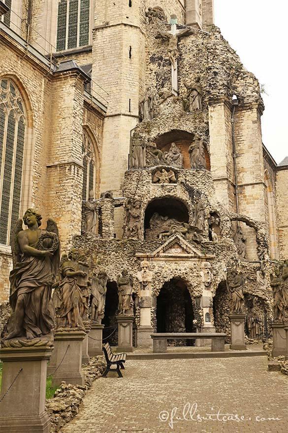 St Paul's Church atrium in Antwerp
