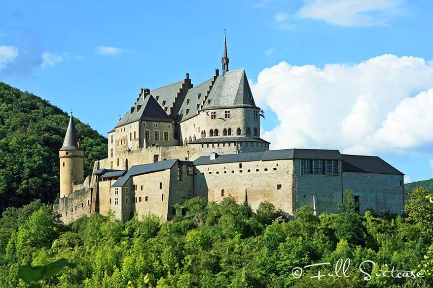 Castle of Vianden Luxembourg