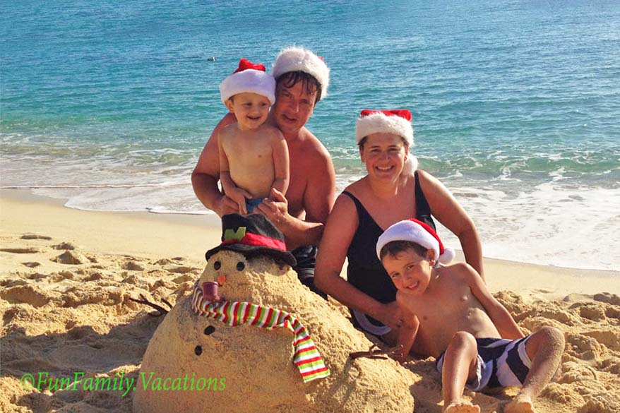 Celebrating Christmas in Cayman Islands