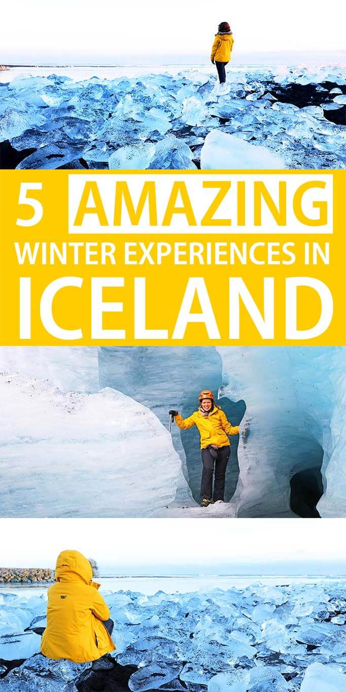 5 unforgettable winter experiences in Iceland. This will get you booking a winter trip for sure!