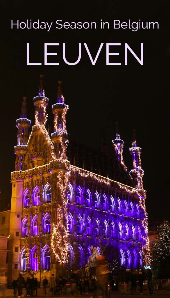 Europe's cosiest Christmas market and other great holiday season experiences in Leuven, Belgium