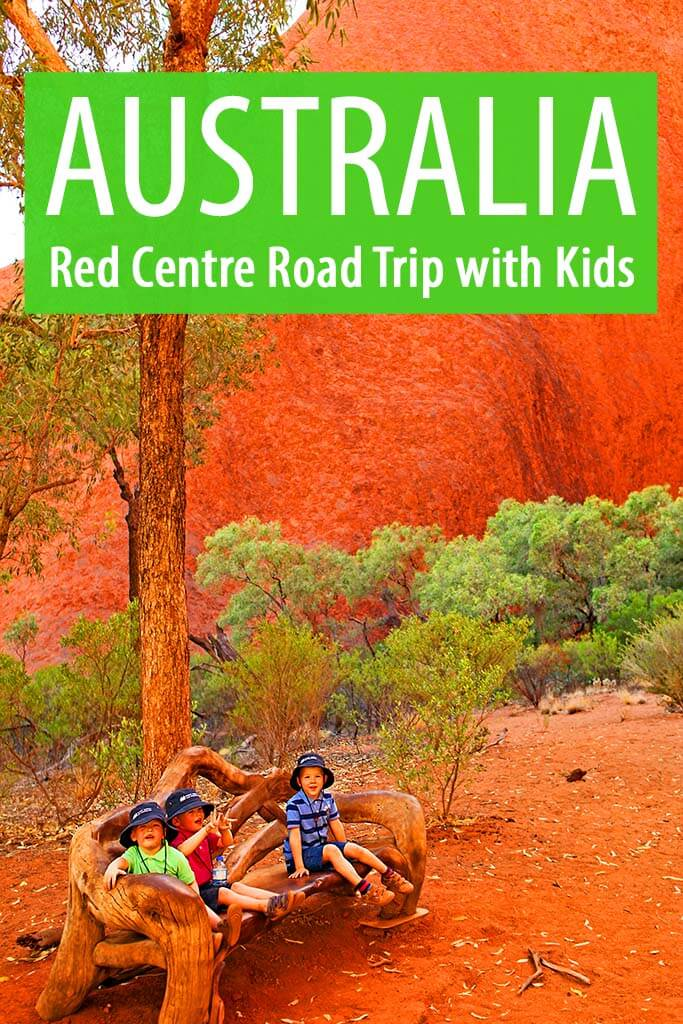 Australia family trip itinerary for traveling to the Red Centre with kids