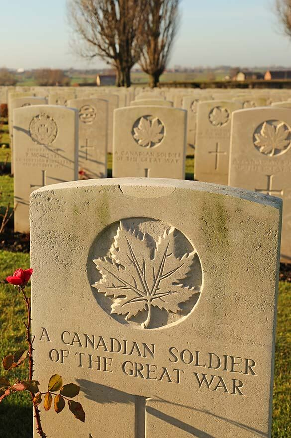Common Wealth WWI graveyard Tyne Cot