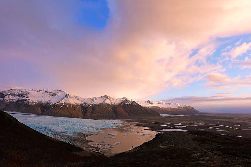 Skaftafell National Park in Iceland