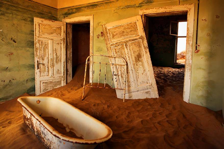 Kolmanskop Ghost Town NamibiaKolmanskop Ghost Town Namibia