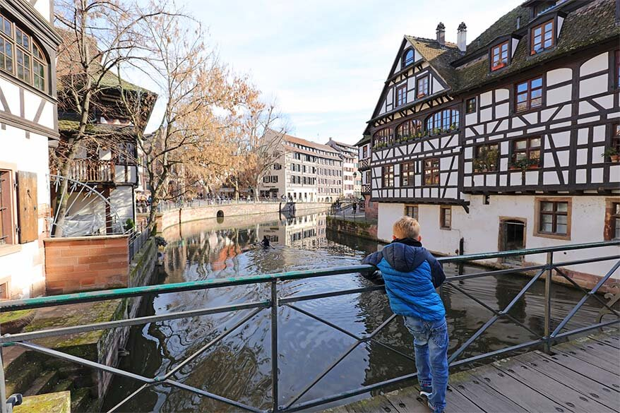 La Petite France in Strasbourg with kids