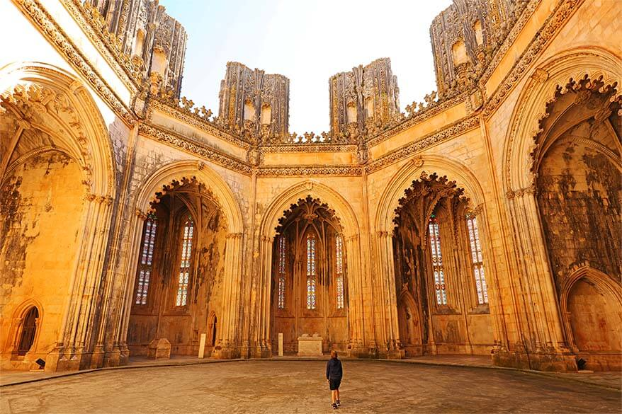 The Unfinished Chapels in Batalha Monastery - one of absolute highlights of our 10 day trip in Portugal