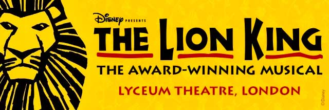 Watch the Lion King musical in London with kids