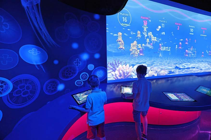 Sea Life London Aquarium is a great place to visit in London with kids