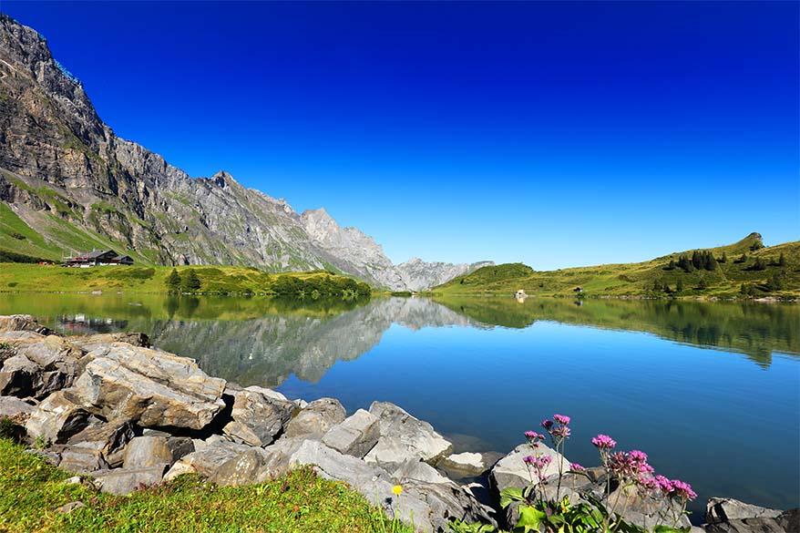 12 great reasons to visit Trubsee lake in Engelberg Switzerland in summer