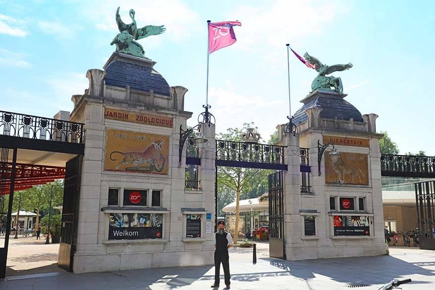 Antwerp zoo is the oldest animal park in Belgium