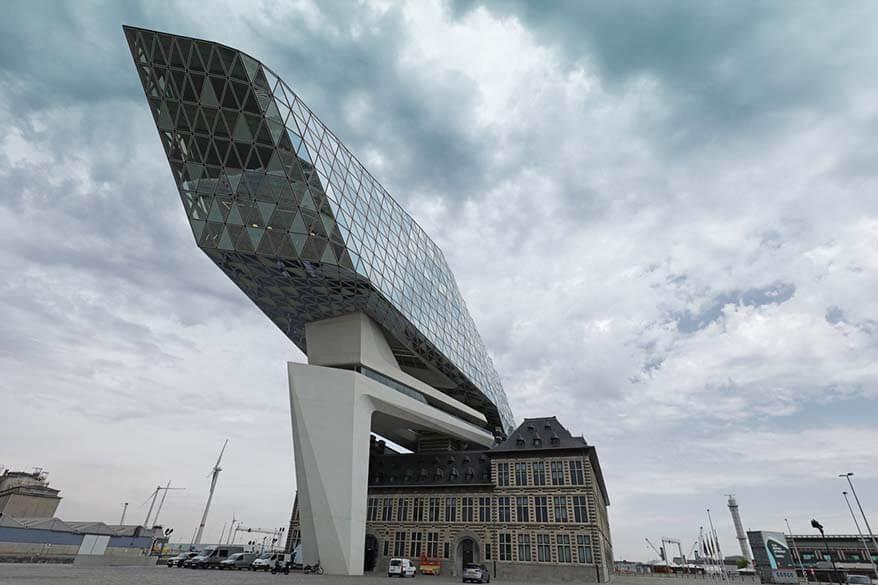 New Port House of Antwerp - Havenhuis