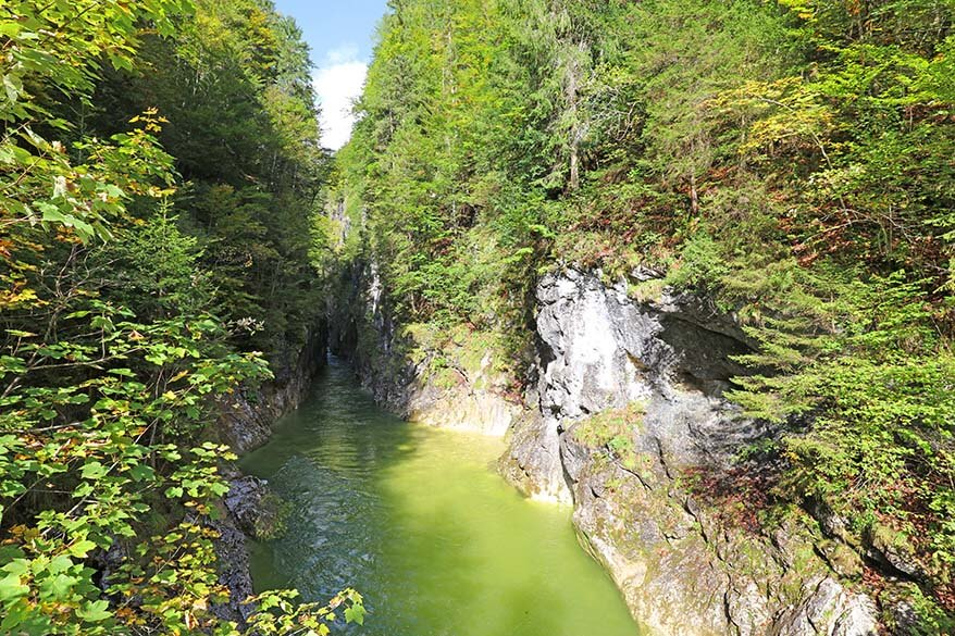 Kaiser Gorge is a perfect short family hike in Alpbachtal region in Austria