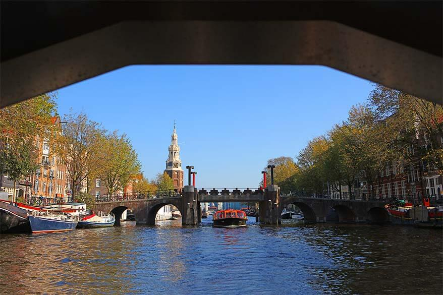 What to do in Amsterdam in one day. Take a canal cruise - it's not to be missed