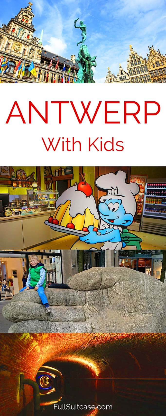 Best places to see and fun things to do in Antwerp with kids #Belgium #Antwerp