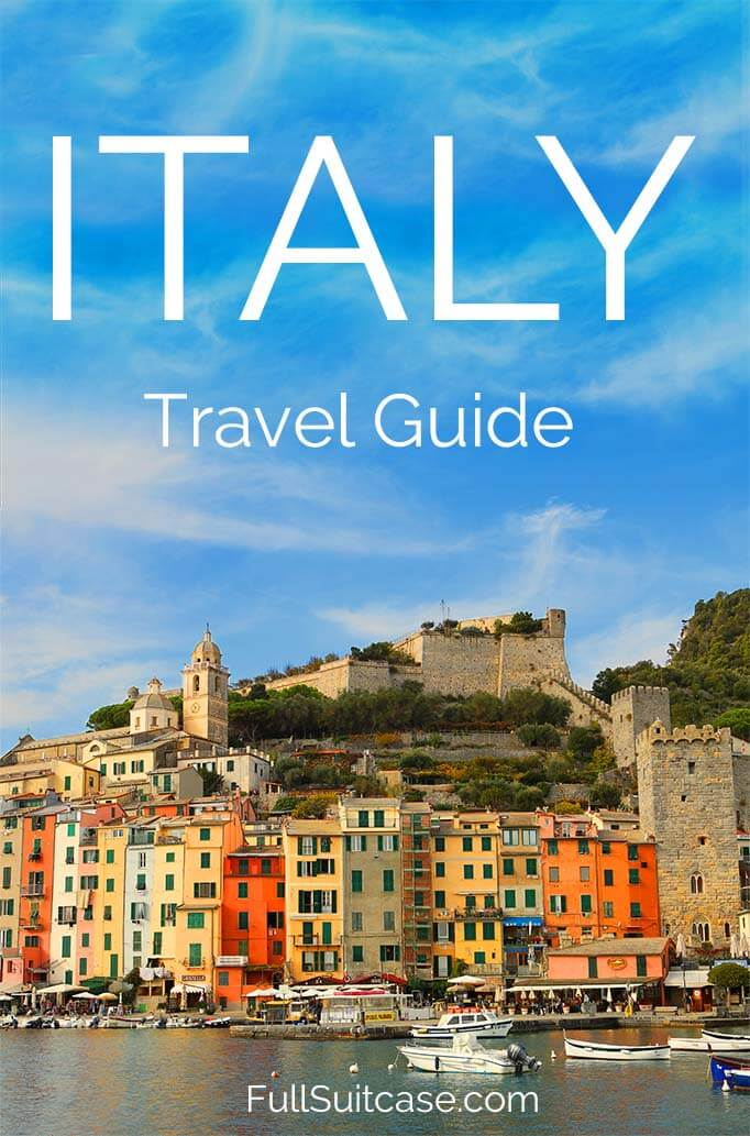 Italy travel guide. Travel inspiration, trip itineraries, practical tips and more. #Italy #travel