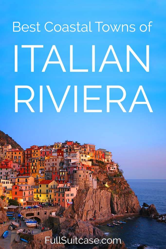 Most beautiful towns of Italian Riviera for your bucket list #Italy #travel #lLiguria