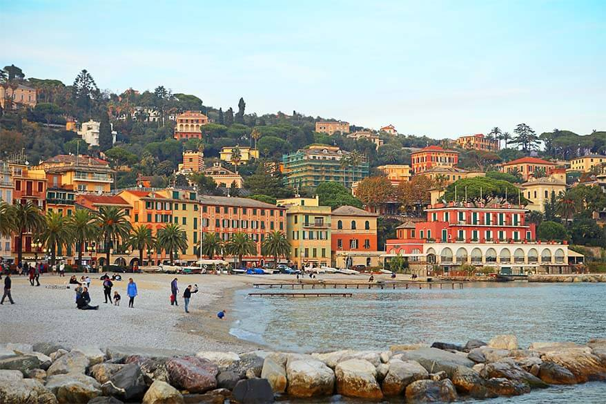 Santa Margherita Ligure is among the best towns to see at the Italian Riviera