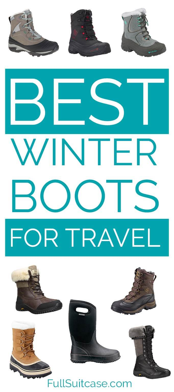 Best winter boots for outdoor activities and travel - for men, women, and children