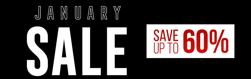 PlayStation January Sale logo