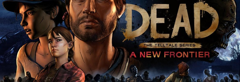 The Walking Dead The Telltale Series A New Frontier logo