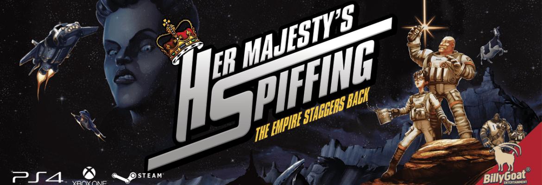 Her Majesty's Spiffing logo