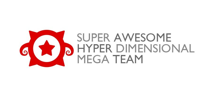 Super Awesome Hyper Simensional Mega Team logo