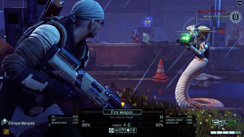 Xcom 2 gameplay - Tactical Target Viper Hud