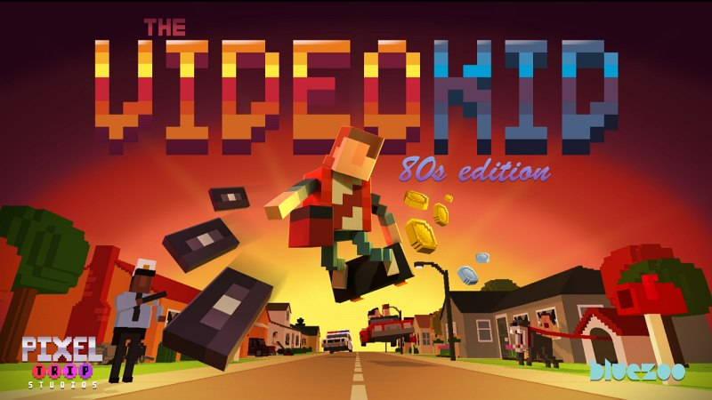 The Video Kid by Pixel Trip Studios logo