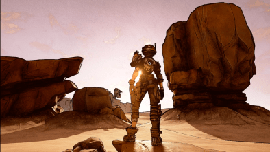 Potential leaked artwork from Borderlands 3 as the developers show off new game engine