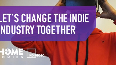Home of Indies Indiegogo logo
